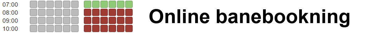 Online banebookning - Københavns Badminton Klub
